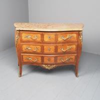 French Louis XV Style Marble Top Commode (2 of 13)