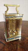 Attractive Small Brass French Carriage Clock (4 of 7)