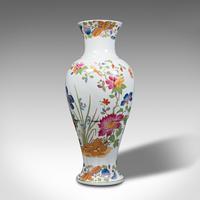 Antique Baluster Posy Vase, English, Ceramic, Decorative, Flower Urn c.1920 (3 of 12)
