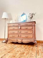 French Vintage Chest of Drawers / Antique Style Washstand / Marble Chest (2 of 9)