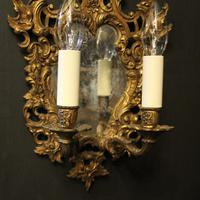French Pair of Gilded Antique Girandoles (5 of 10)