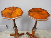 Pair of Queen Anne Style Torcheres / Candle Stands (4 of 9)