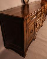 Superb Georgian Oak Serving Dresser Large (4 of 20)