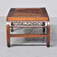 Qing Period Chinese Rosewood & Burr Wood Low Table (6 of 8)