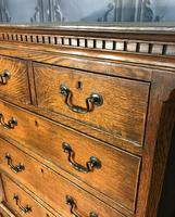 Georgian Style Oak Chest on Chest (2 of 12)