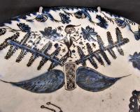 Safavid Dynasty Fritware Dish, Early 17th Century, Mashhad, Iran (2 of 11)