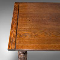 Antique Refectory Table, English, Oak, Dining, Jacobean Revival, Edwardian c.1910 (7 of 12)
