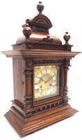 German Carved-Oak 8-Day Mantel Clock by Junghans (13 of 13)