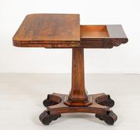 Rosewood William IV Card Table (2 of 8)