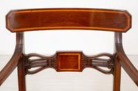 Set of 6 Sheraton Revival Dining Chairs (4 of 17)