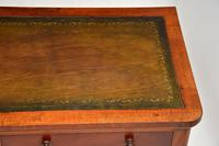 Antique Victorian  Mahogany  Leather Top Writing Table / Desk (9 of 9)