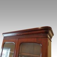 Victorian Mahogany Glazed Library Bookcase (6 of 11)