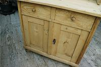 A Rare, Old Pine Sideboard/ Cupboard/ Desk/ Baby Changing Unit (4 of 11)