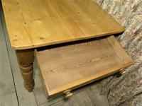 Antique Pine Farmhouse Table c.1860 (5 of 9)