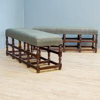 Pair of Oak Benches (2 of 7)
