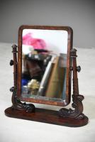 Antique Mahogany Toilet Swing Mirror (3 of 11)