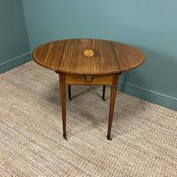 Victorian Mahogany Antique Drop Leaf Table (4 of 6)