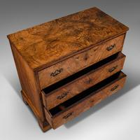 Antique Gentleman's English Burr Walnut Chest of Drawers - Georgian (8 of 12)