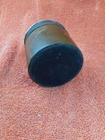 Antique Sterling Silver Hallmarked Hair Tidy Pot Bakelite (8 of 10)