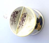 A Rare Prattware / Transferware Pottery Shaving Mug C.1850 (4 of 6)