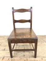Four 19th Century Oak Farmhouse Chairs (5 of 17)