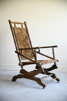 Early 20th Century  American Style Rocking Chair (2 of 13)