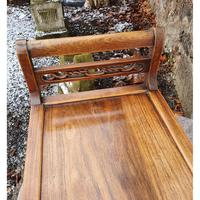 19th Century Chinese Hardwood Window Seat (7 of 7)