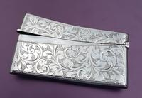 Solid Silver Curved Card Case (4 of 4)