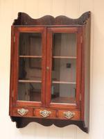 Mahogany Glazed Wall Cabinet (2 of 10)
