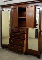 Mahogany Compactor Wardrobe (3 of 5)
