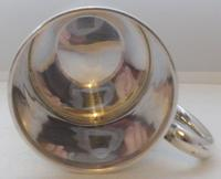William Hutton 1906 Hallmarked Solid Silver Tankard Christening Mug Boxed (7 of 11)