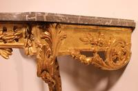 Giltwood Console From The 18th Century - Transition Period (louis XV-louis XVI) -france (13 of 13)
