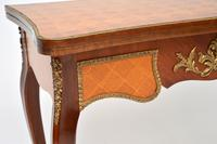 Antique French Inlaid Parquetry Card Table (8 of 12)
