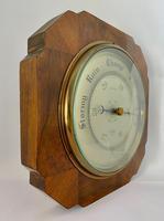 Art Deco Aneroid Barometer.  1930's (3 of 6)