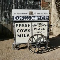 Edwardian Express Dairy Delivery Milk Cart (11 of 11)