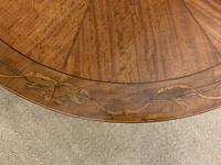 Edwardian Inlaid Satinwood Occasional Table c.1900 (6 of 10)