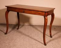 Italian Desk / Console In Walnut 18th Century (3 of 9)