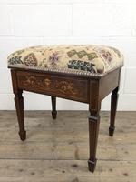 Antique Victorian Rosewood Piano Stool (9 of 14)