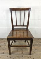 Pair of 19th Century Welsh Oak Farmhouse Chairs (4 of 12)
