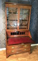 Georgian Mahogany Bureau Bookcase (6 of 17)