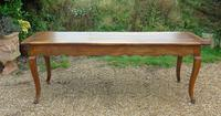 Large French Fruitwood Dining / Farmhouse Table