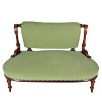 Victorian Rosewood Two Seat Settee (2 of 8)