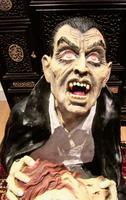 Huge Old Fairground Dracula Sculpture  Ghost Train Figure (2 of 9)