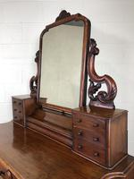 Victorian Mahogany Duchess Dressing Table (20 of 21)