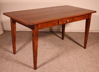 Small 19th Century French Table in Cherrywood (3 of 9)