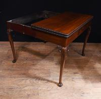 Georgian style Card Table Mahogany Games Tables 1880 (3 of 8)