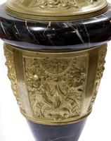 A Pair of Marble & Gilt Metal Urns (5 of 5)