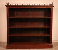 Fine Open Bookcase in Mahogany Early 19th Century - England (2 of 11)