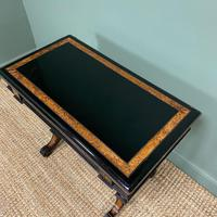 Victorian Ebonized and Walnut Antique Games Table (9 of 9)
