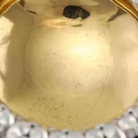 Magnificent Set of 4 Georgian Solid Silver Salts - Barnard 1837 (20 of 22)